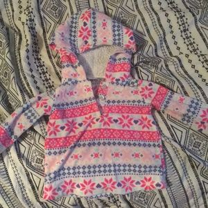 Other - Extra Warm Fleece Printed Hoodie